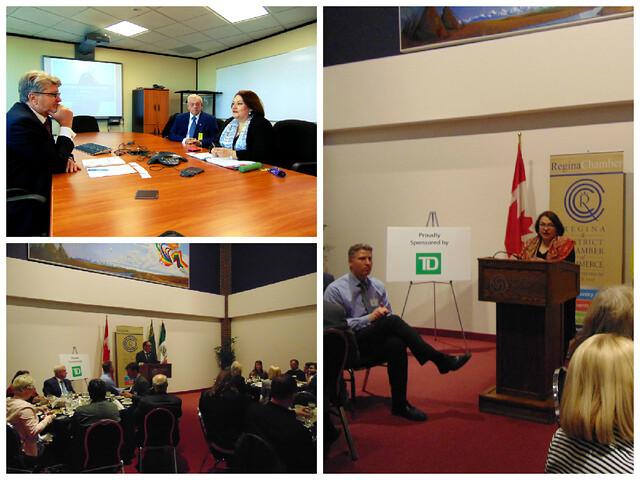 Visita oficial a Regina, Saskatchewan, de Cónsul de México en Calgary