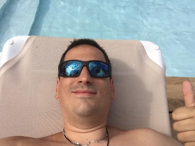 Sele en el Hotel Don Pancho de Benidorm
