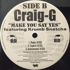 CRAIG G:STOMPED(LABEL SIDE-B)