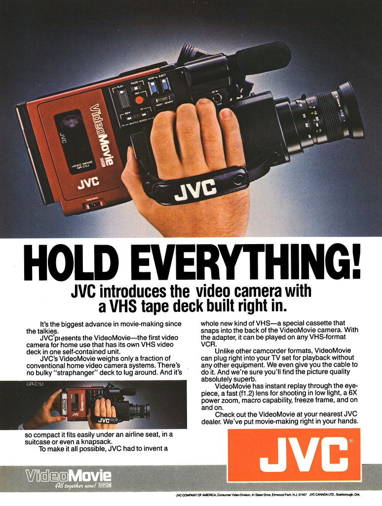 1984 Jvc Vhs