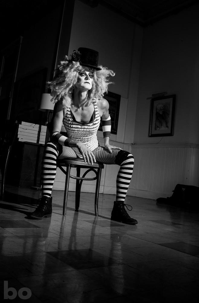Tori black stockings