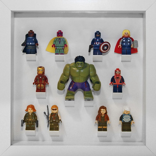 Collectible Minifigures in IKEA Ribba Frames | Flickr