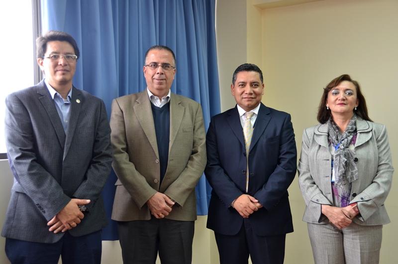 Dirección de Relaciones Internacionales: Visita de la Universidad Antonio Ruiz de Montoya (LIMA- PERÚ). 20-07-2016