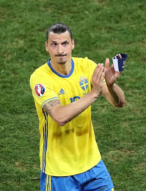 「瑞典戰神」Zlatan Ibrahimovic日前受訪語出驚人。(達志影像資料照)