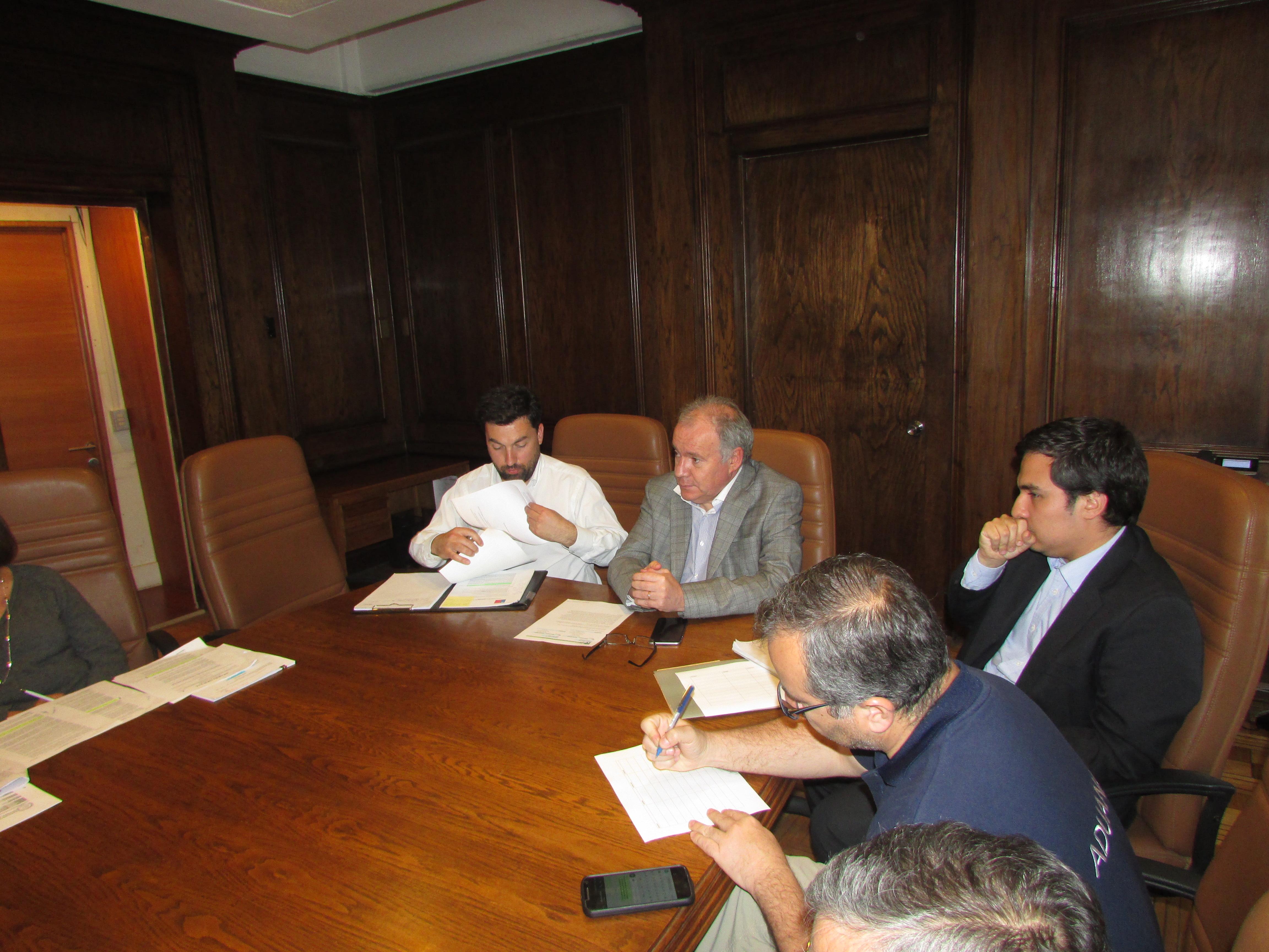 Reunión con DIPRES por consultas Bono Incentivo al Retiro – 28 Septiembre 2016
