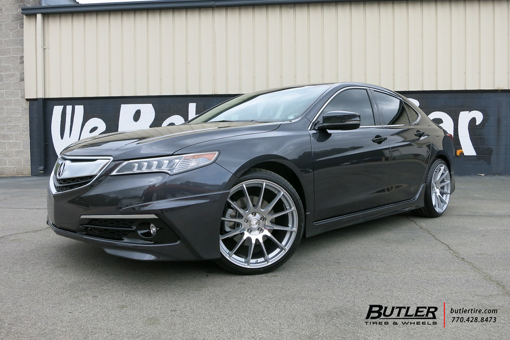 Acura TLX with 20in MRR GF6 Wheels   Additional Picture Gall…   Flickr