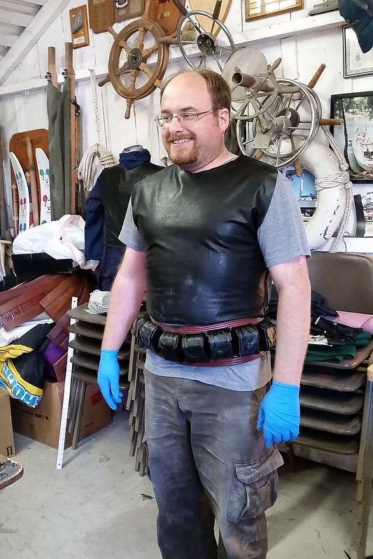 Matt Tries on Flak vest