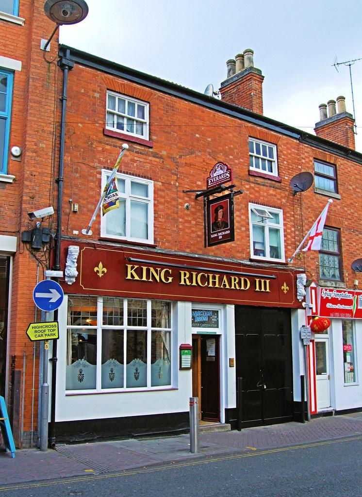 the king richard iii pub leicester jim linwood flickr. Black Bedroom Furniture Sets. Home Design Ideas
