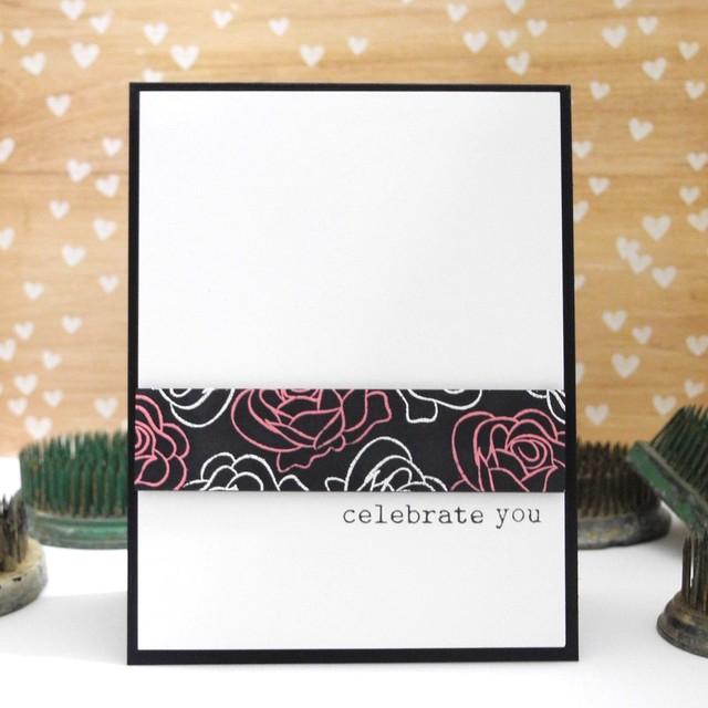 Celebrate You by Jennifer Ingle #runwayinspired #winnieandwalter #diy #cardmaking #papercrafting
