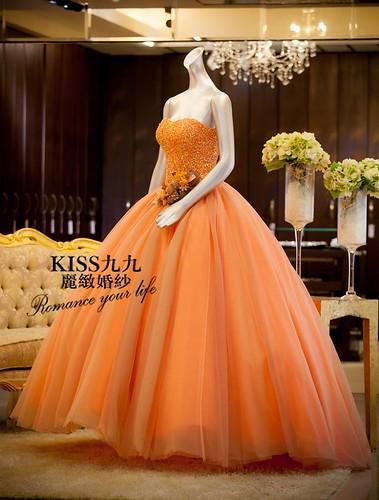 高雄推薦婚紗攝影-高雄kiss99麗緻婚紗告訴大家2015春季婚紗的流行趨勢