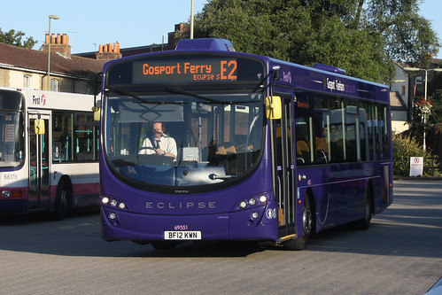 First Hampshire & Dorset 69551 Volvo B7RLE / Wright Eclipse Urban 2