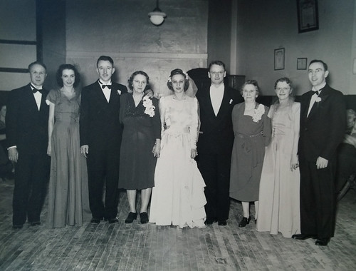 Grandma and Pop - wedding party 2 | by infogirl