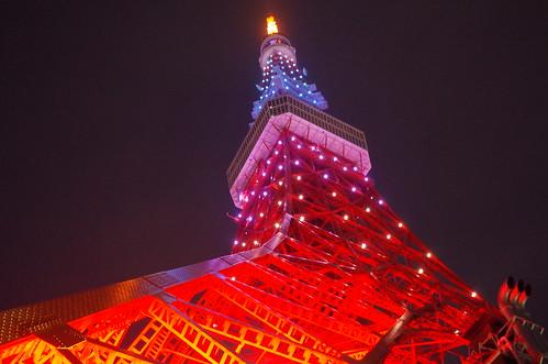 Tokyo Tower Rainbow Diamond Veil 06