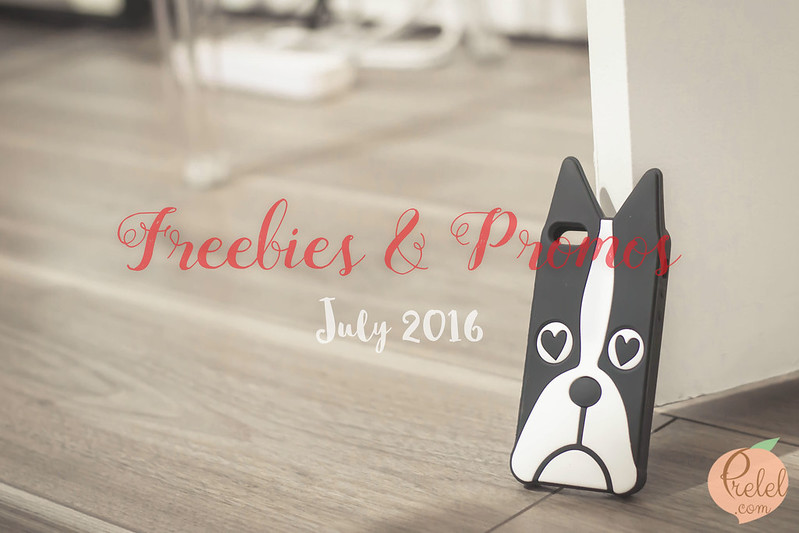 Freebies and Promos: July 2016