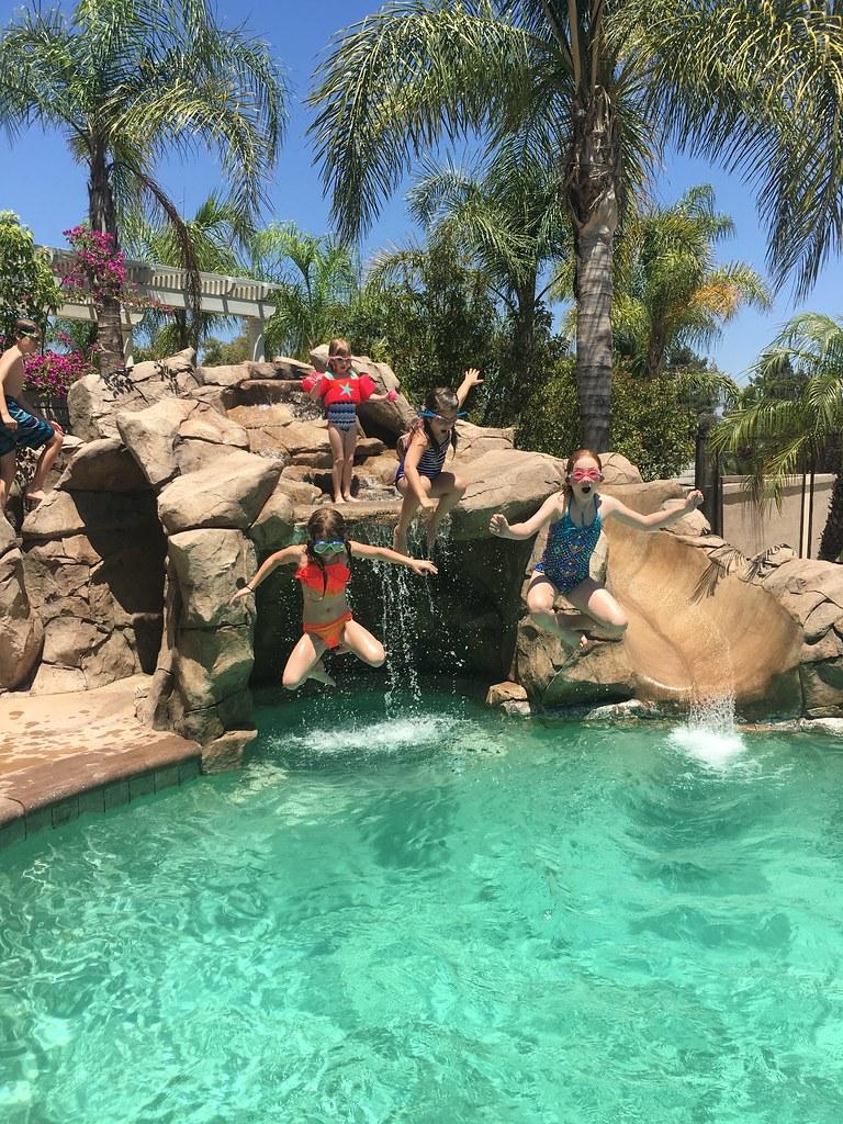 Pool Day fun