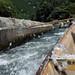 保津川下り 水かぶり