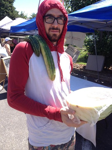 Old Beach Farmer's Market (Petting the Goats) (August 15 2015) (3)