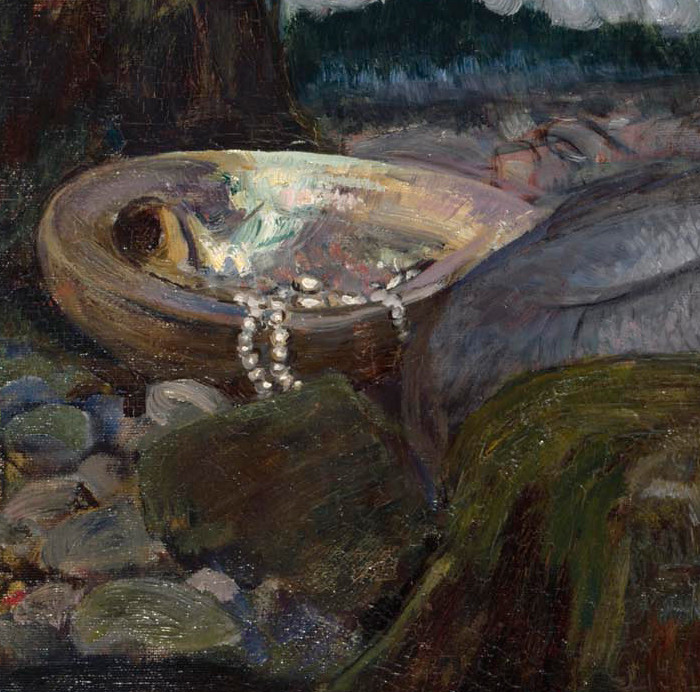 "John William Waterhouse ""A Mermaid"" 1901 (detail) 