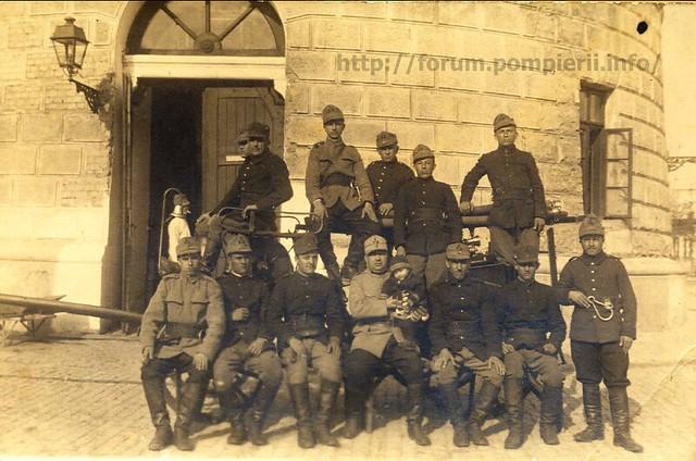 Pompieri Bucuresti 1920