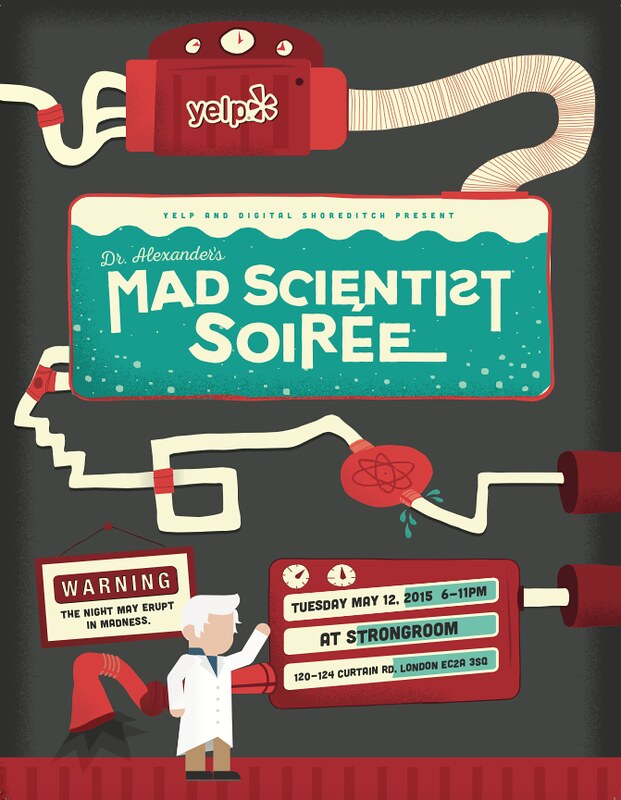 Win VIP Access to Yelp's Mad Scientist Soiree at Strongroom Bar in Shoreditch