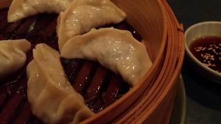Kimchi Dumplings from Yong Green