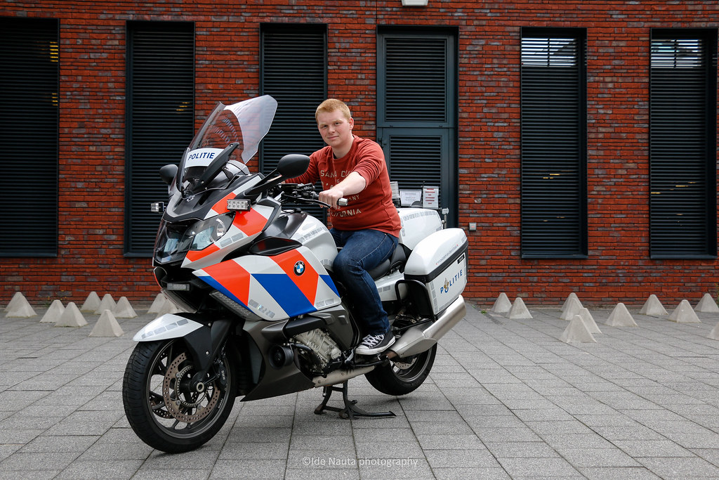 Me On A Dutch Police Bmw K1600gt I Had And Took The