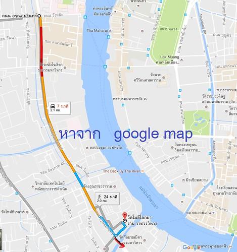 แผนที่วัดโมลีโลกยารามราชวรวิหาร