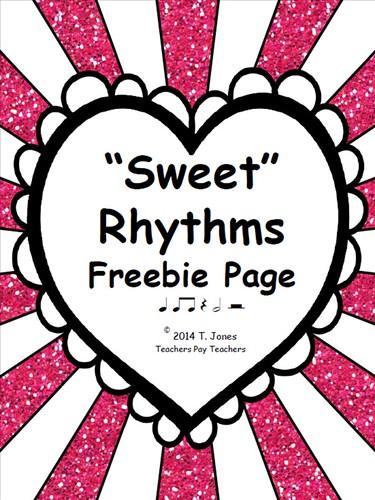 """""""Sweet"""" Rhythms"""