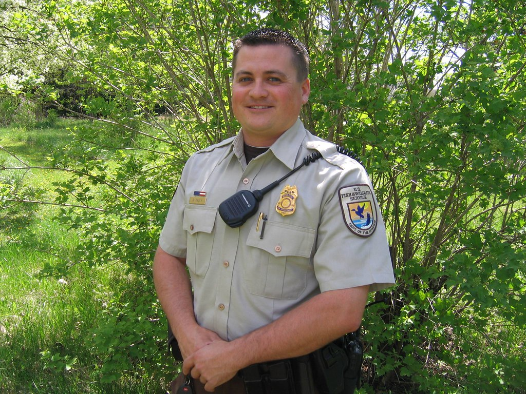 Federal wildlife officer ryan pauly this week is for Us fish and wildlife