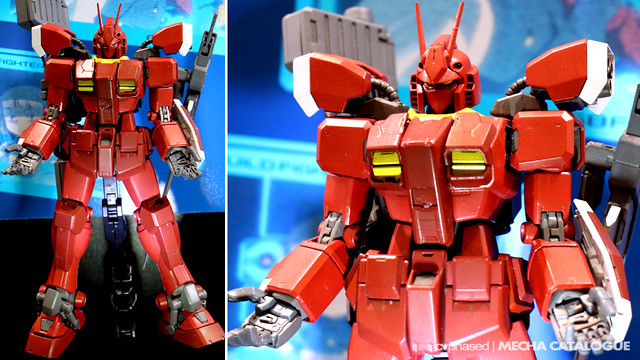54th Shizuoka Hobby Show - MG Gundam Amazing Red Warrior