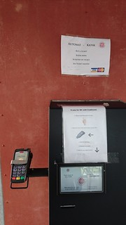 Pay machine for public toilet | by alanchen