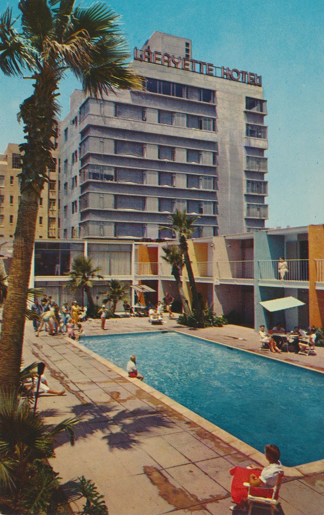 The Lafayette Hotel and Lanais - Long Beach, California