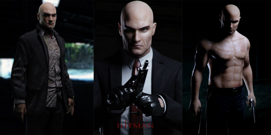 StylishHDwallpapers Hitman Agent 47 Absolution Poster HD Wallpaper