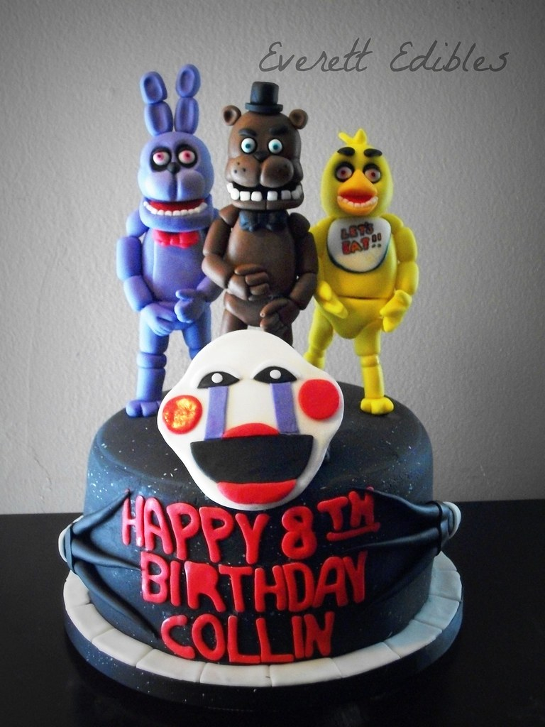 5 Nights At Freddy S Cake 4 2015 Created By Everett