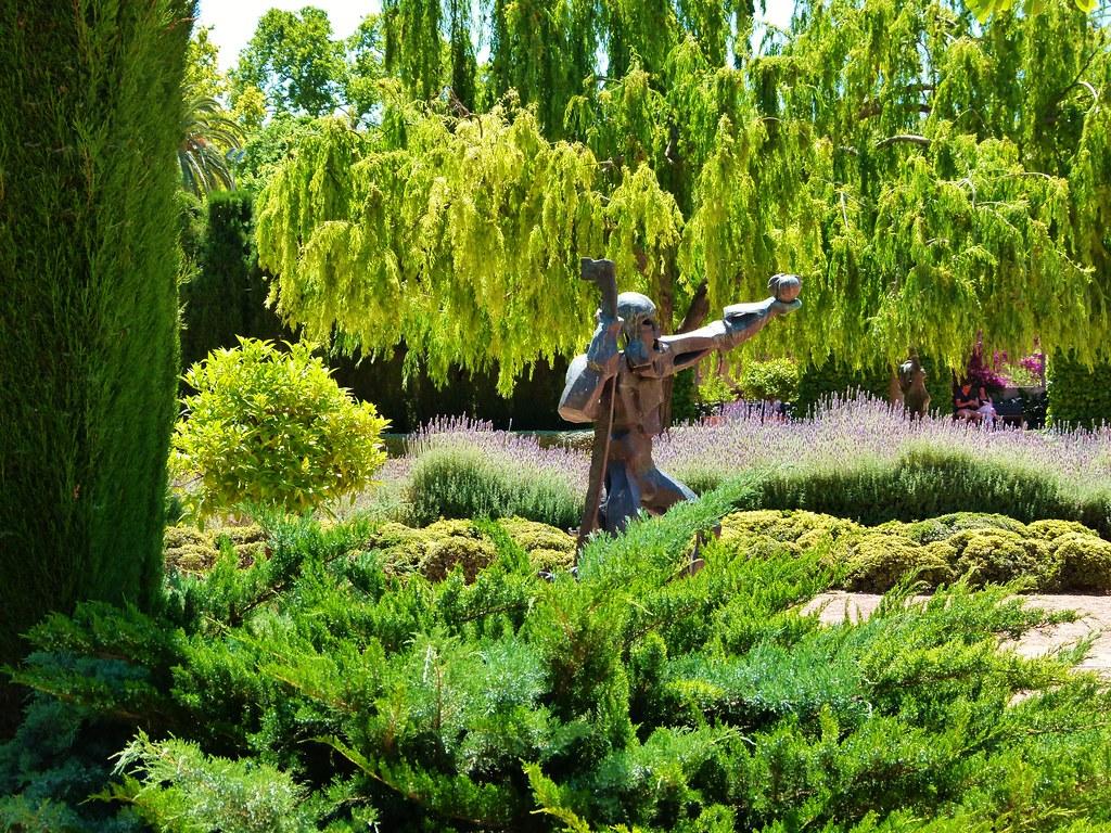 Jard n de las hesp rides paseo de la pechina valencia for Jardin hesperides