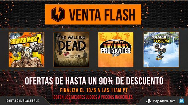 May Flash Sale - PlayStation LATAM