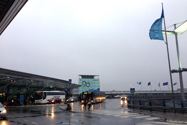 Vantaa.Terminal 2. Departures. Helsinki. Finland