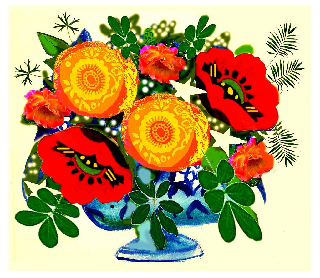 Awesome Birthday Flowers For My Friend C Anne Permki Flickr
