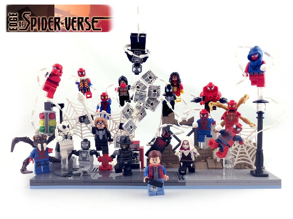Lego Spiderman Malvorlagen Star Wars 1 Lego Spiderman: My Spider-man Minifig Collection