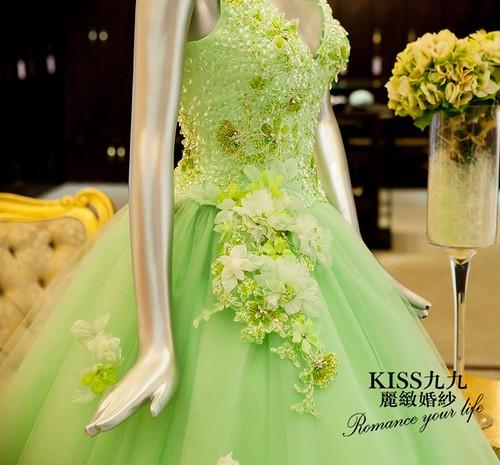 高雄推薦婚紗攝影-高雄kiss99麗緻婚紗告訴大家2015春季婚紗的流行趨勢 (6)