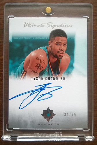 2007-08 Ultimate Collection Signatures #TY Tyson Chandler /75 | by milkowski.pawel