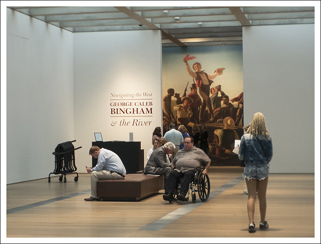 Entrance To The Bingham Exhibit