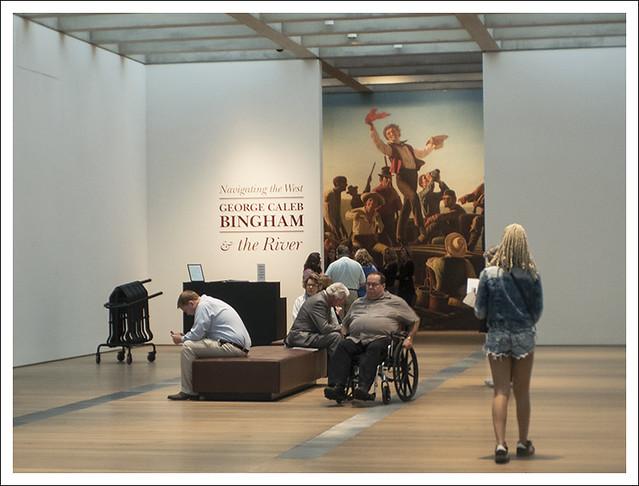 Entrance To The Bingham Exhibit