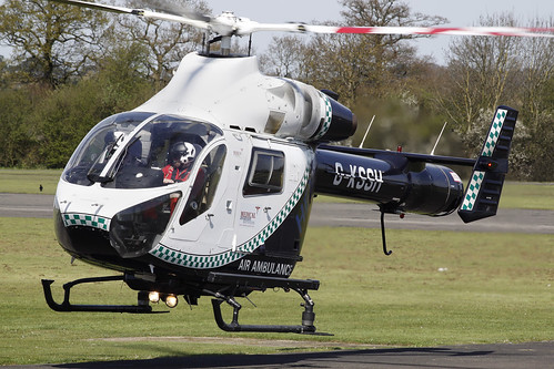 MD902 Explorer G-KSSH - Sussex & Surrey Air Ambulance - North Weald, April 2015 | by DanGB