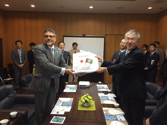 08.05.2015 Yokohama City University Visit