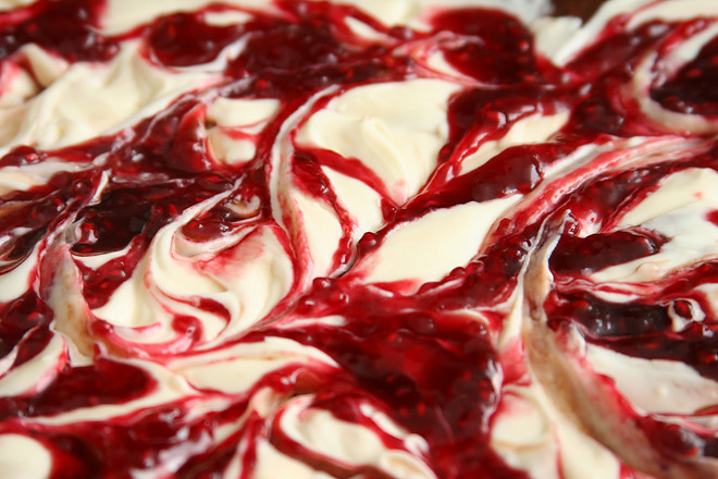 raspberry cheesecake brownies 2