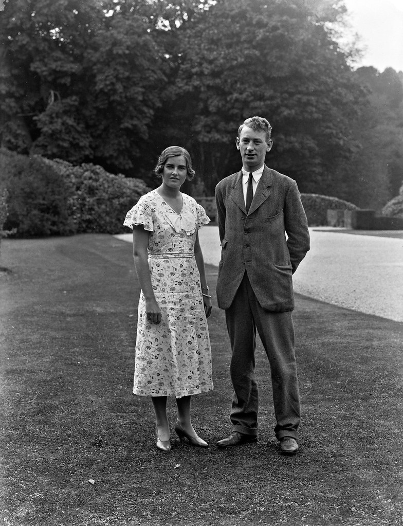 By Mount Congreve, Waterford, Lady Alethea Buxton And Mr. Peter Eliot. | By  Mr Cavendish I Presume