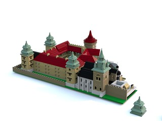 Royal Castle and Cathedral at Wawel in Cracow - WIP modelling | by goldsun19731