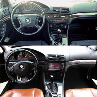 BMW E39 Interior Transformation Before And After Flickr
