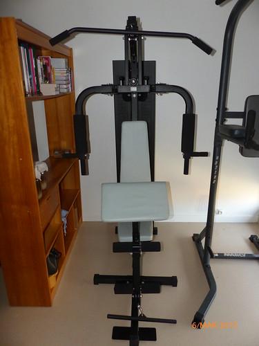 Banc de musculation 150€ (1)